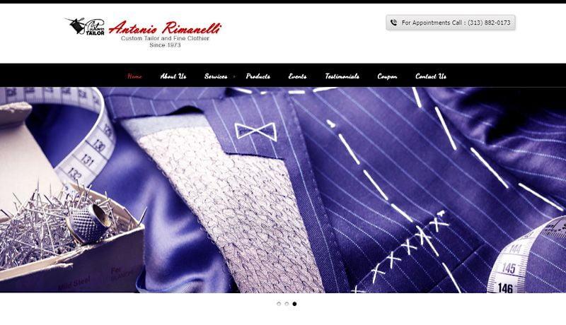 Rimanellis - WordPress Website